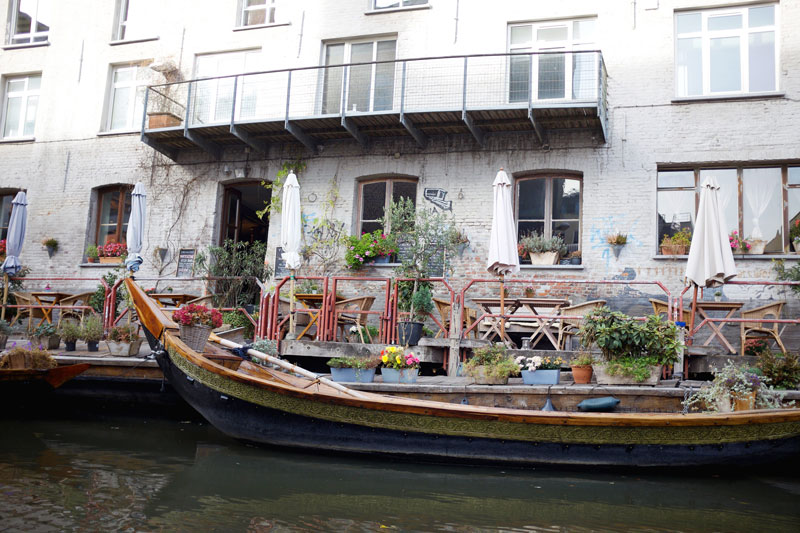 Seven ways to Experience Ghent, Belgium - Canals, Castles, Cafes and more | Earthtones Travel + Design Blog | Roo Bea Design Co