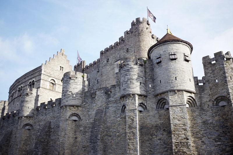 Tour the Gravensteen Castle - Ghent, Belgium | Earthtones Travel + Design Blog | Roo Bea Design Co
