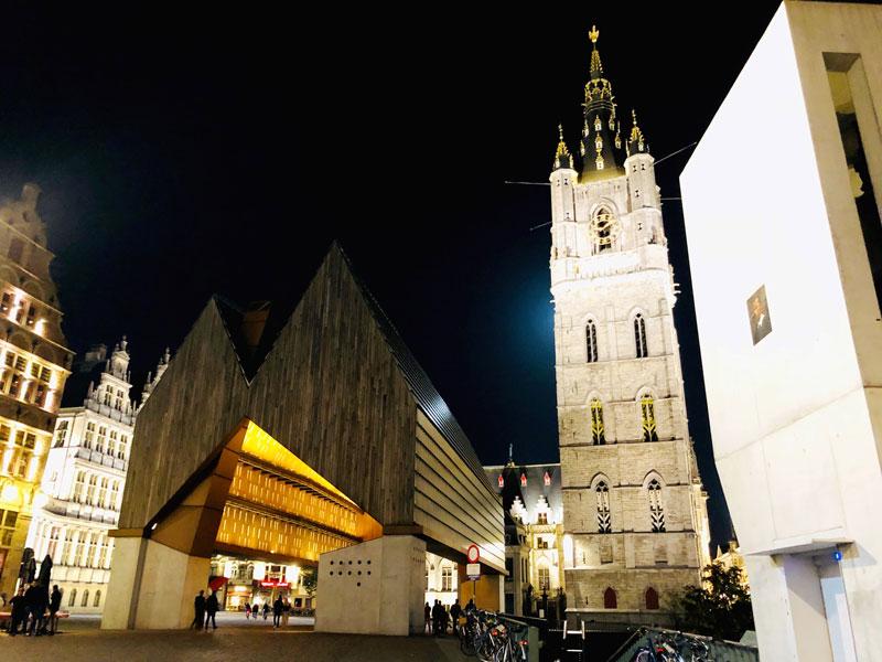 Ghent Illuminated Night Tour | Earthtones Travel + Design Blog | Roo Bea Design Co