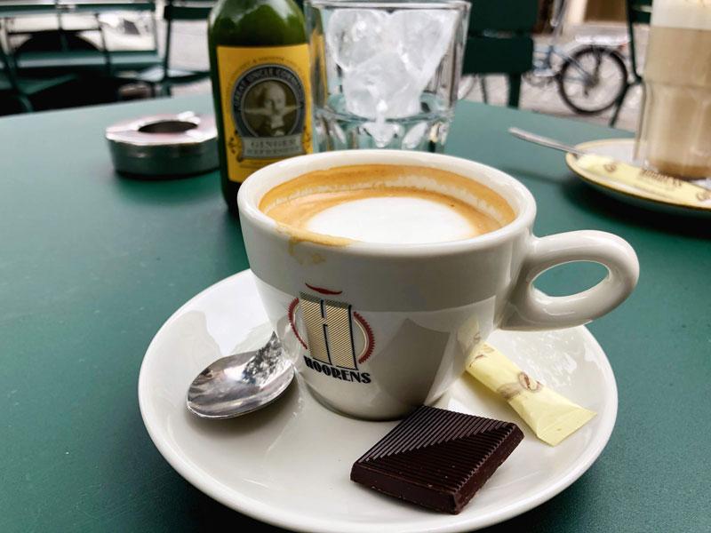 Daily coffee fix in Ghent, Belgium | Earthtones Travel + Design Blog | Roo Bea Design Co