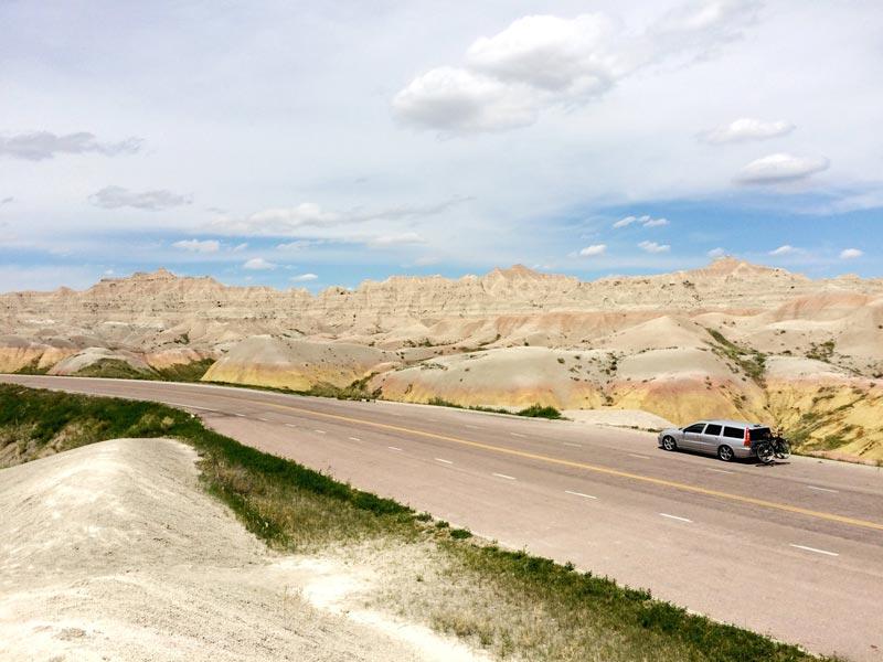 Yellow Mounds - The Badlands National Park | Earthtones Travel + Design Blog | Roo Bea Design Co.