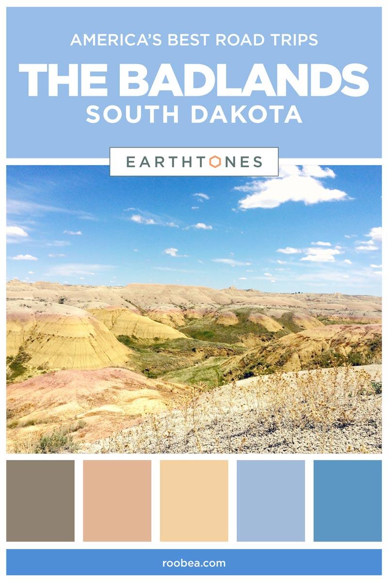 America's Best Road Trips - The Badlands National Park, South Dakota | Earthtones Travel + Design Blog | Roo Bea Design Co.