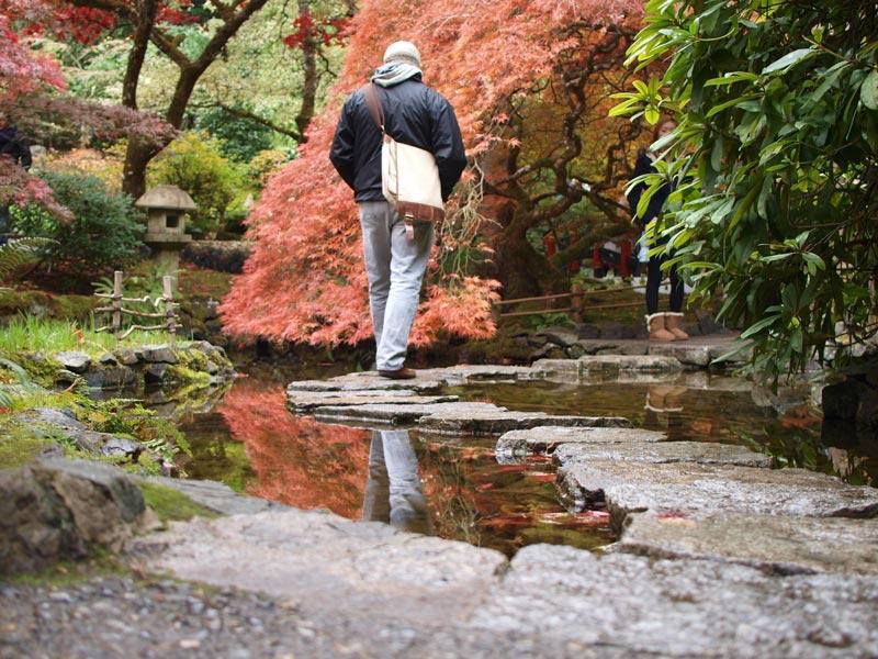 Japanese Garden at The Butchart Gardens in Victoria, British Columbia | Earthtones Travel + Design Blog | Roo Bea Design Co.