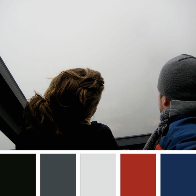 Color Palette: Cool, Masculine, Bold, Primary, Winter & Grey | Chicago, Illinois | Earthtones Travel + Design Blog | Roo Bea Design Co.