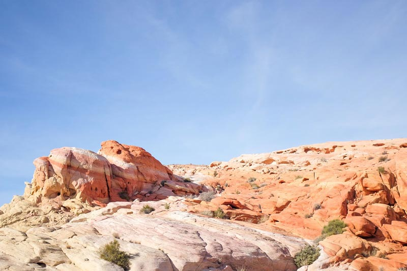 Colorful Valley of Fire State Park Nevada | Earthtones Travel + Design Blog | Roo Bea Design Co.