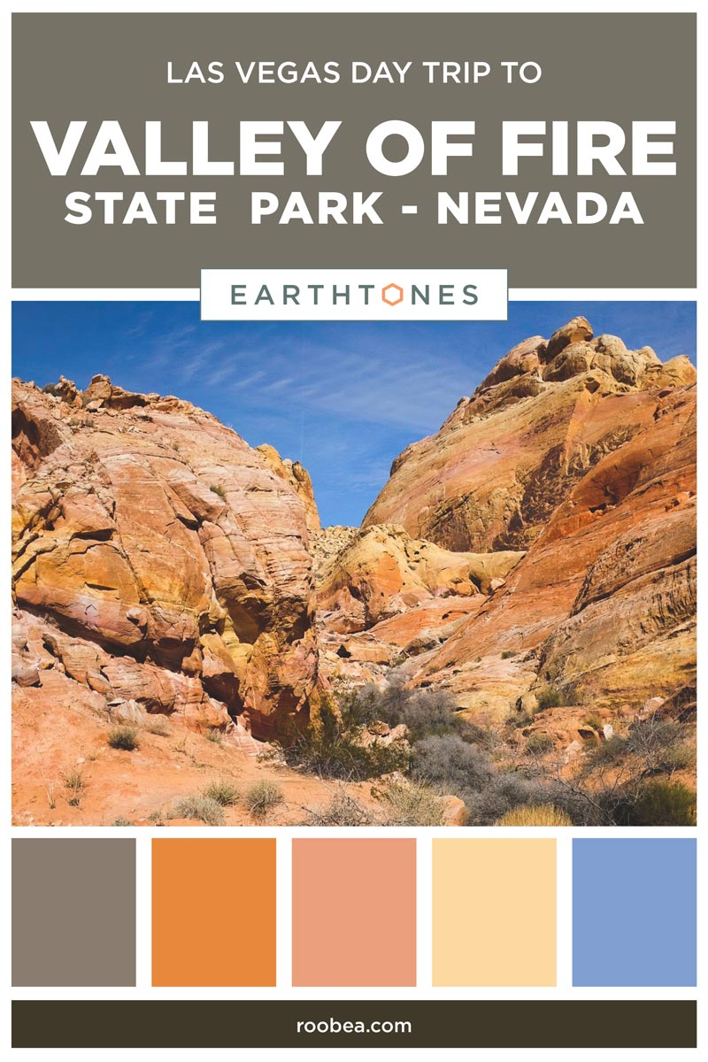 A Las Vegas Day Trip Must - Valley of Fire State Park, Nevada | Earthtones Travel + Design Blog | Roo Bea Design Co.