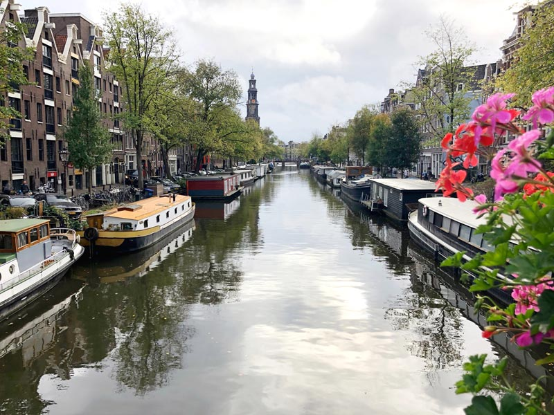 The Canals of Amsterdam in The Netherlands | Earthtones Travel + Design Blog | Roo Bea Design Co