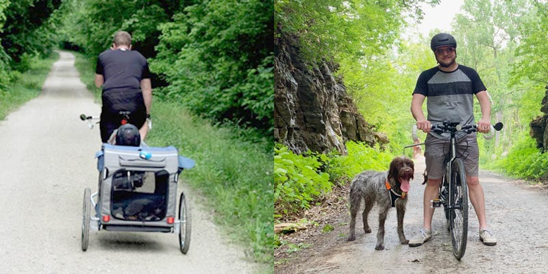 The difference a year makes!   The Katy Trail, Missouri   Earthtones Travel + Design Blog   Roo Bea Design Co.