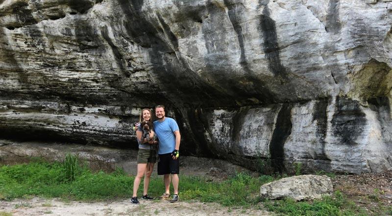 Beautiful Bluffs - The Katy Trail, Missouri   Earthtones Travel + Design Blog   Roo Bea Design Co.