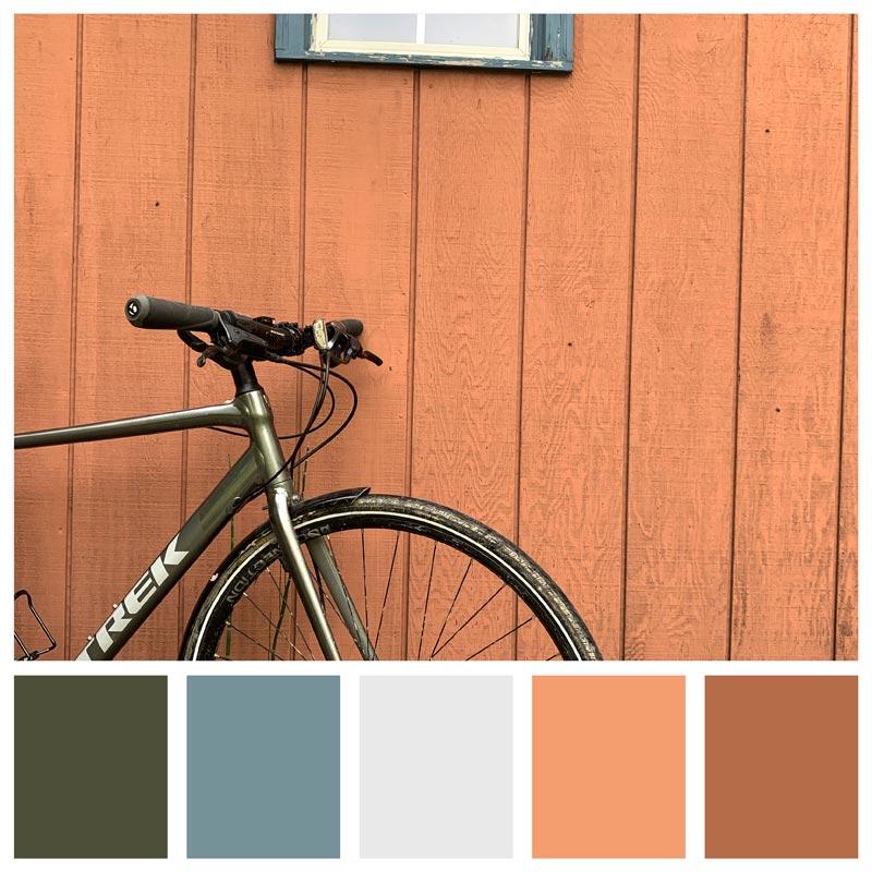 Color Palette: Vintage, Warm, Rust, Terracotta, Natural, Masculine, Historic, Rustic   Biking The Katy Trail in Missouri   Earthtones Travel + Design Blog   Roo Bea Design Co.