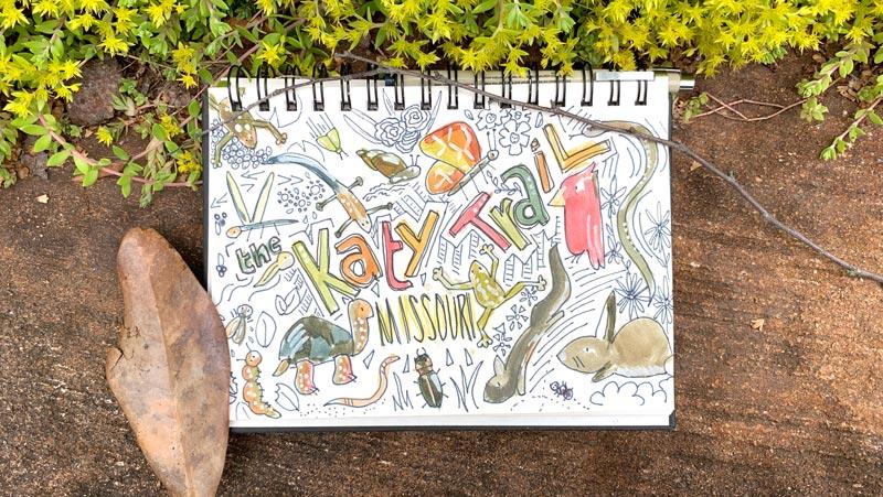 Inspiration from biking the Katy Trail in Missouri   Earthtones Travel + Design Blog   Roo Bea Design Co.