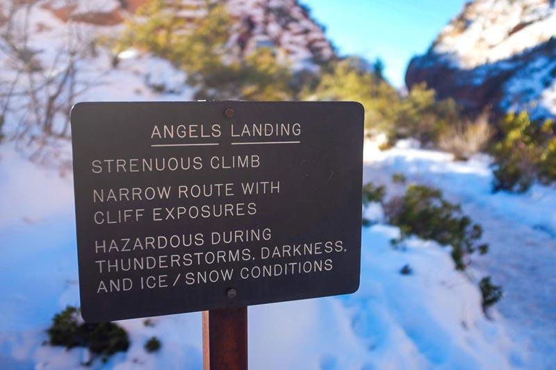 Best Hikes at Zion National Park - Angels Landing   Earthtones Travel + Design Blog   Roo Bea Design Co.
