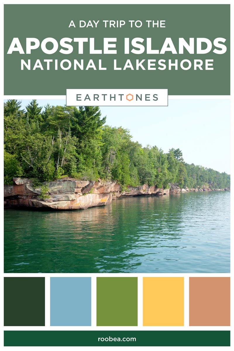 A Day Trip to the Apostle Islands National Lakeshore | Earthtones Travel + Design Blog | Roo Bea Design Co.