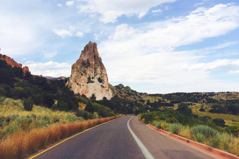 Garden of the Gods Scenic Drive | Earthtones Travel + Design Blog | Roo Bea Design Co.