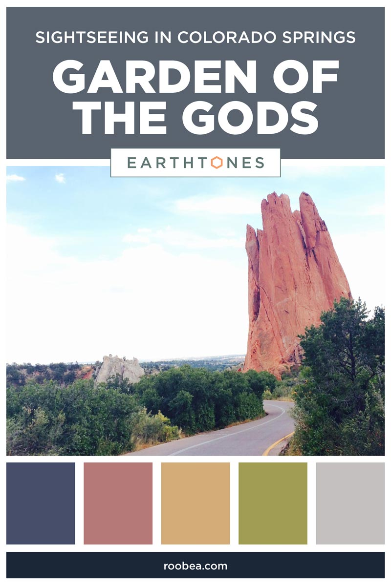 Sightseeing in Colorado Springs - Garden of the Gods | Earthtones Travel + Design Blog | Roo Bea Design Co.