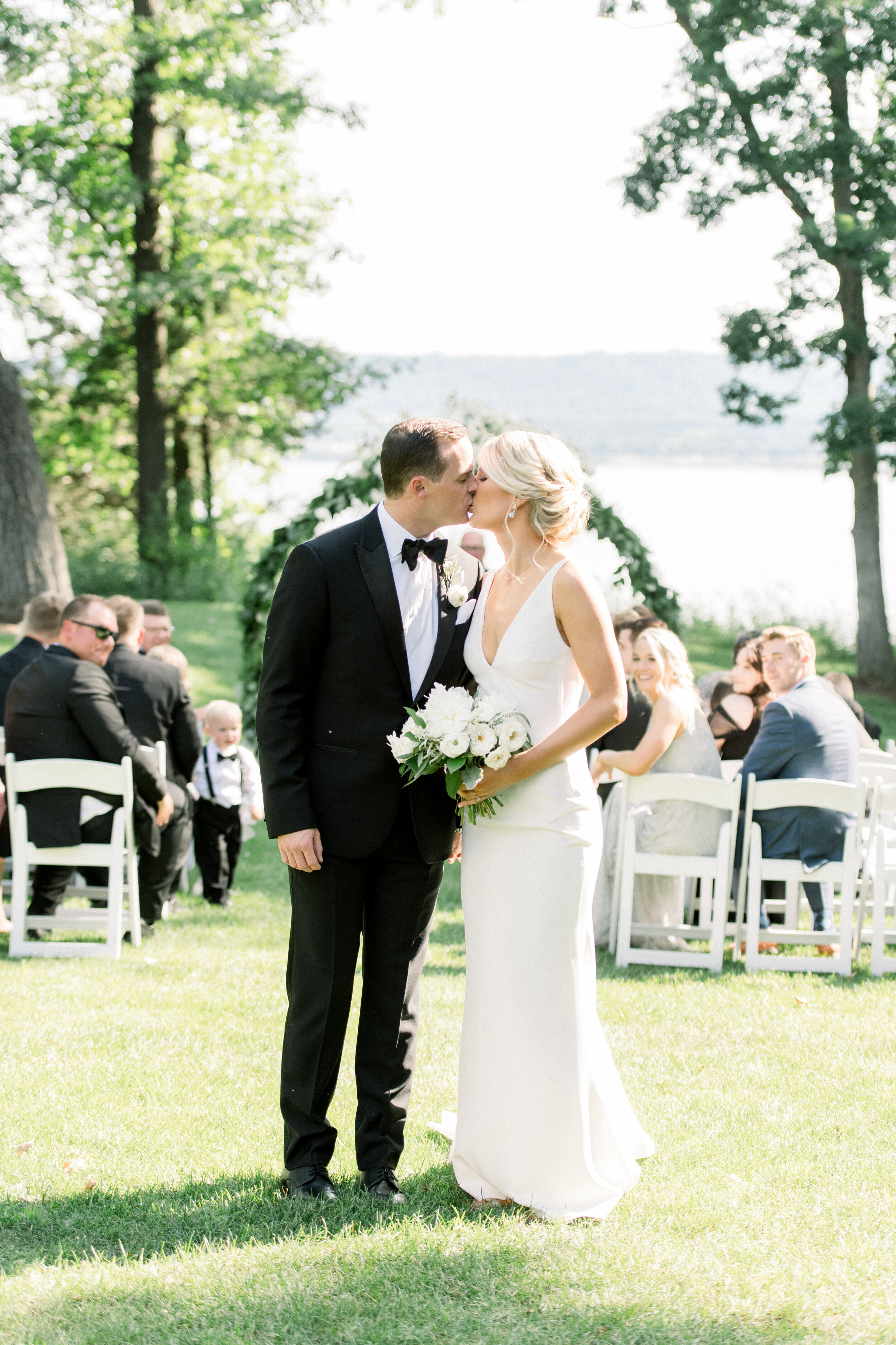 Romantic Backyard Wedding In Stockholm Wi Buck Rose Get inspired with our beautiful wedding stories or search for florists, venues, photographers, and other wedding. romantic backyard wedding in stockholm
