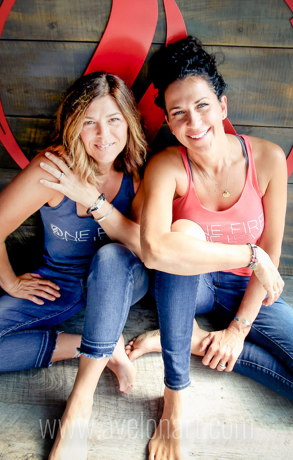 Carlene and Marisa | Owners of Soulfire Power Yoga in Greenland, NH | A Baptiste Affiliate