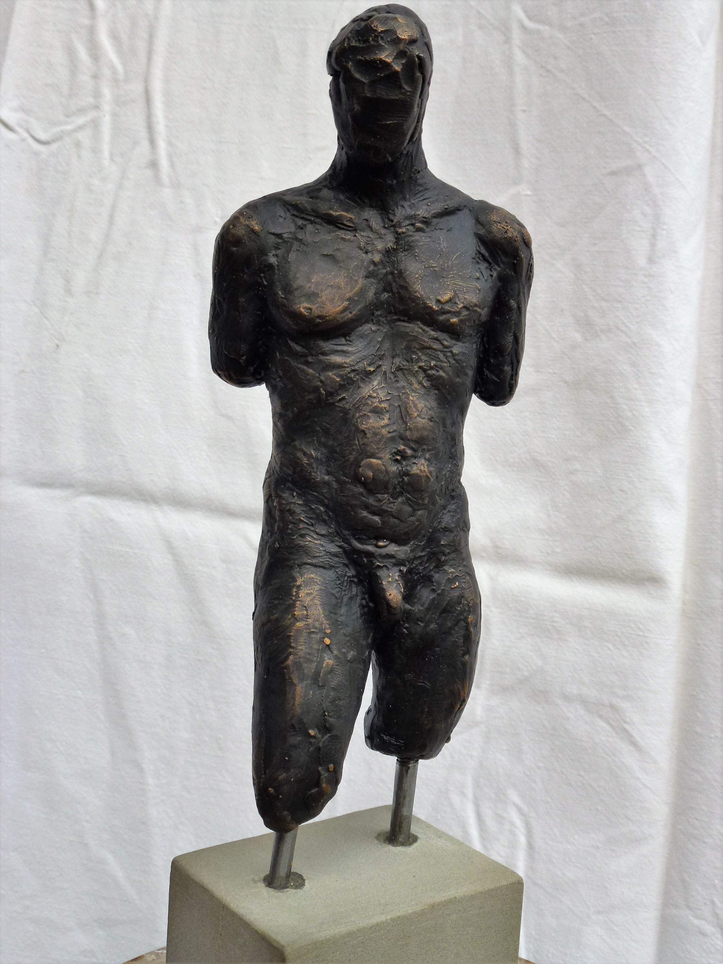 Bronze Torso, kr. 5.000