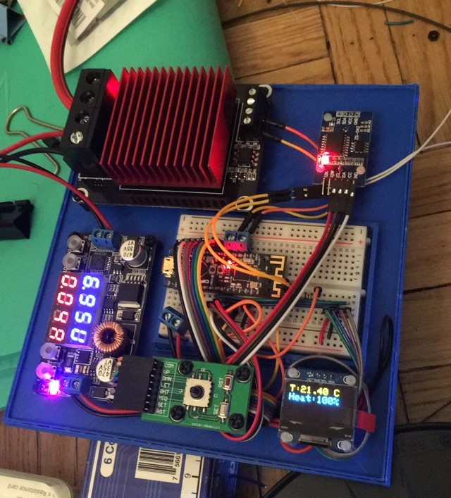 Arduino-controlled Heatbed for 3D Printer — Terry's Engineering Log
