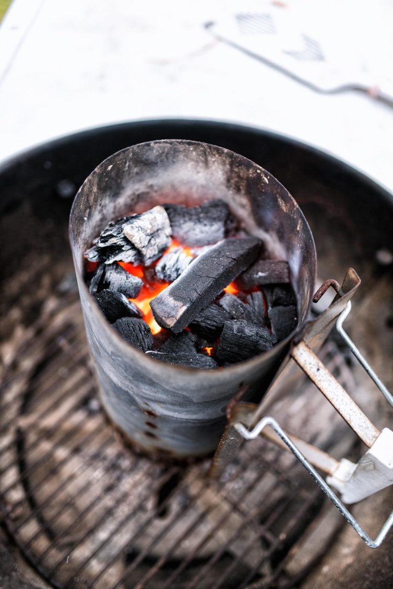 Get those coals hot -