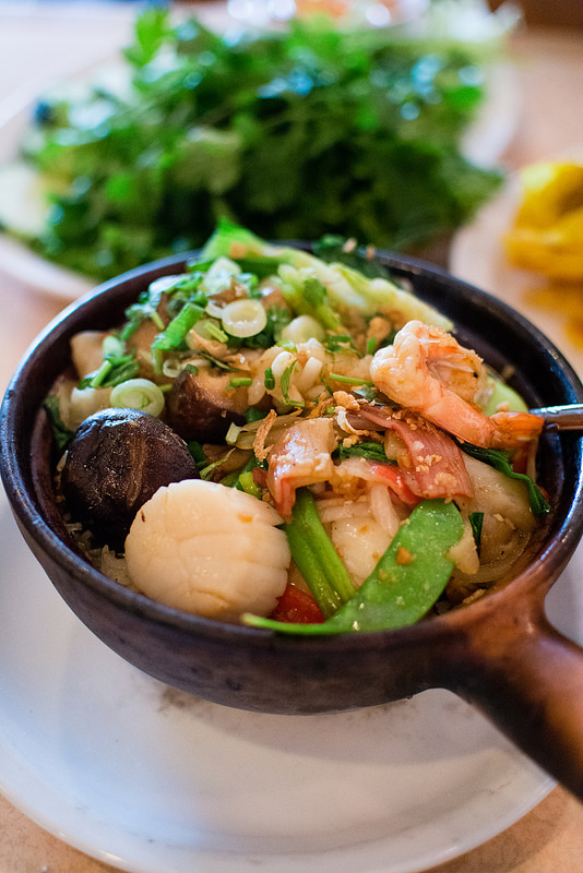 charred rice Mai Lee st.louis scallops