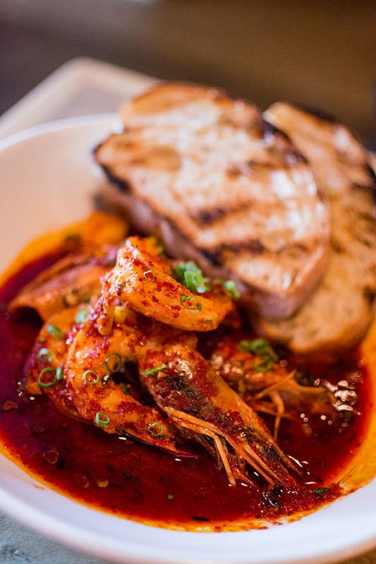 korean shrimp The Libertine st.louis