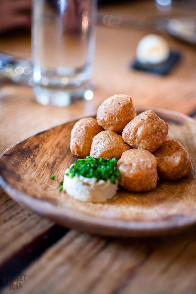 Trout Beignets Niche Restaurant st.louis