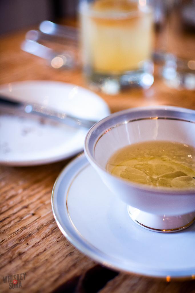 oak tea Niche Restaurant st.louis