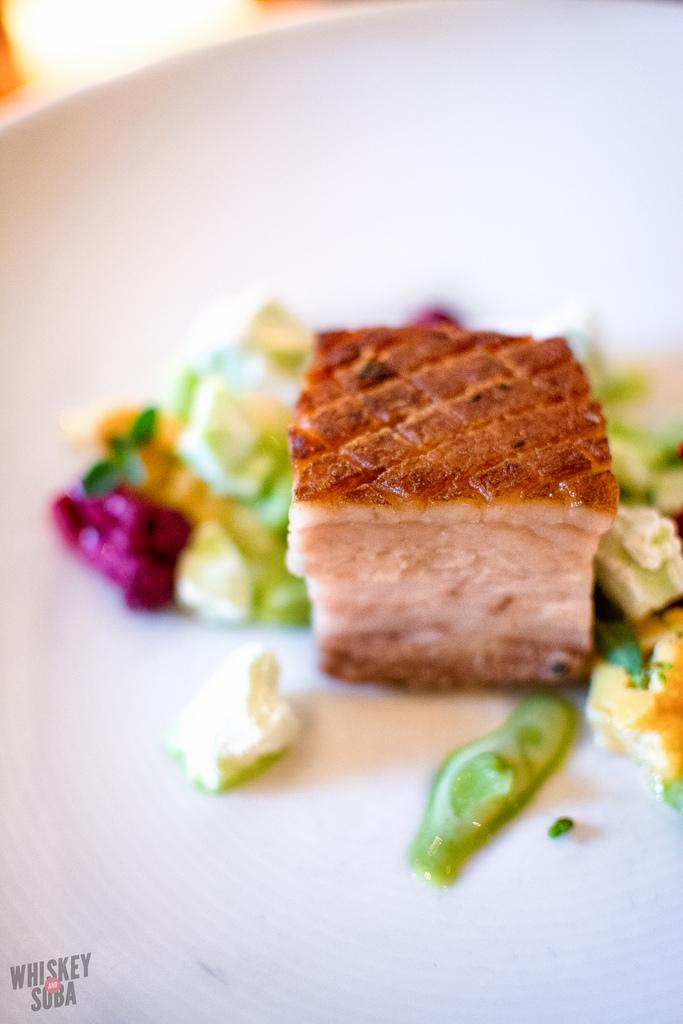 crispy pork belly Niche Restaurant st.louis
