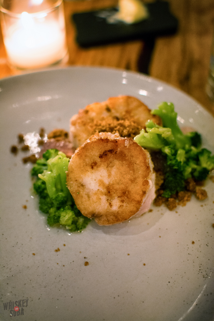 Fish roulade Niche Restaurant st.louis