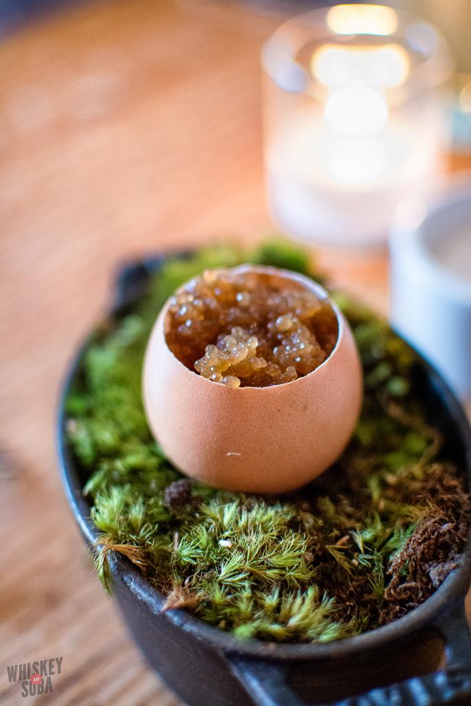 egg caviar Niche Restaurant st.louis