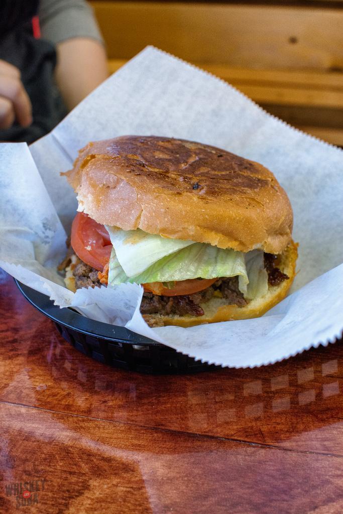 burger Kim Cheese st.louis