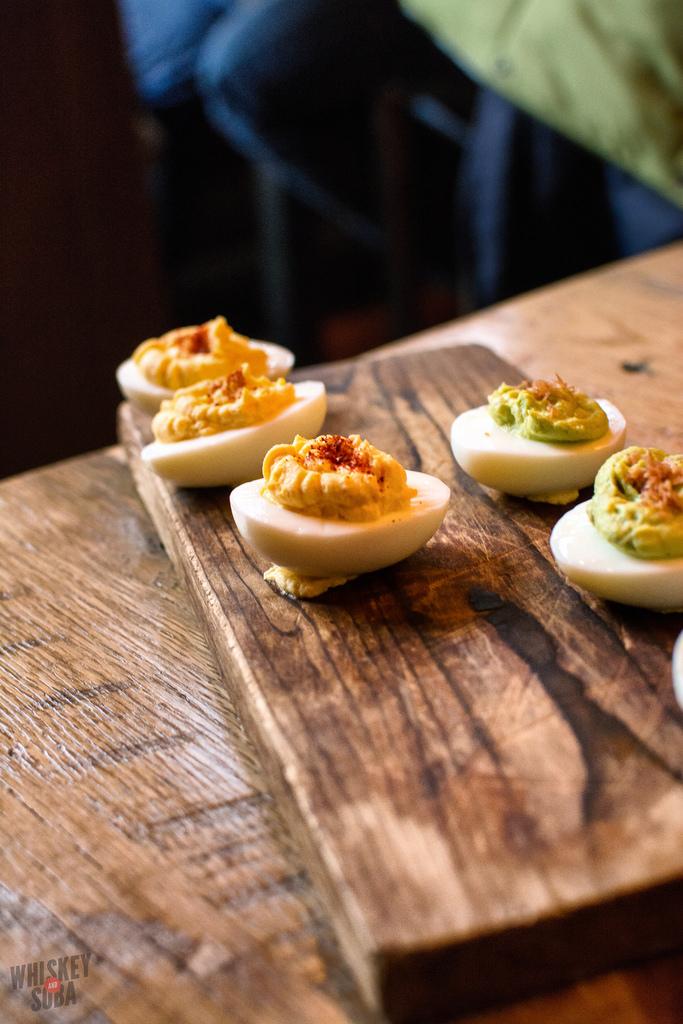 deviled eggs juniper st.louis