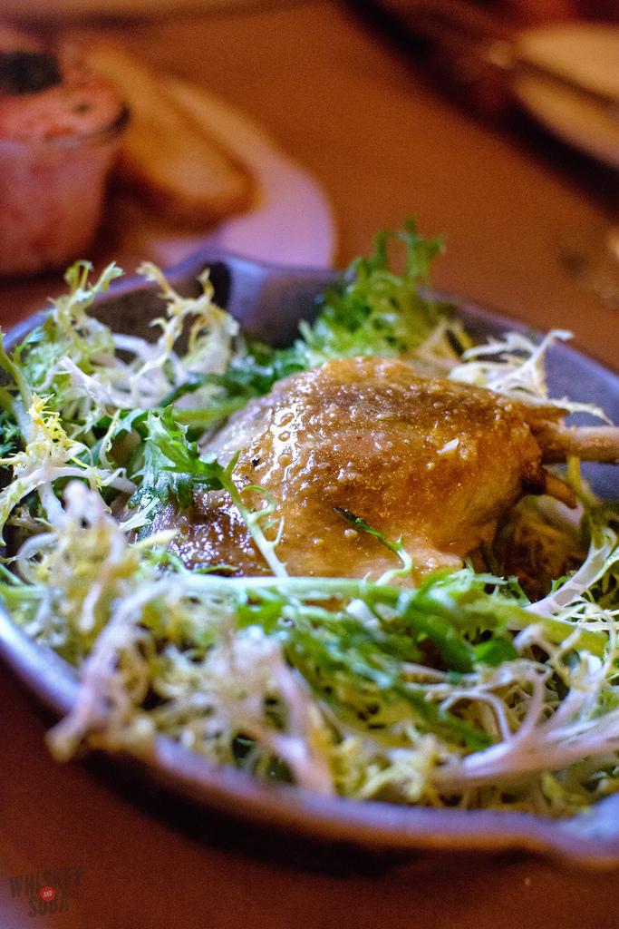 duck confit Brasserie Niche st.louis