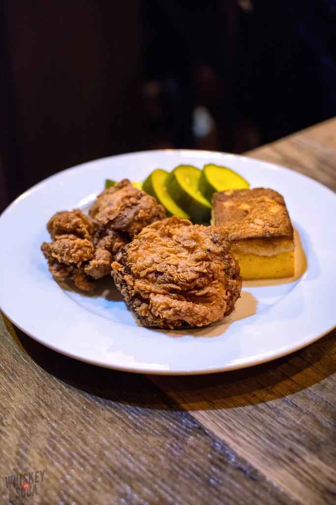 fried chicken at Juniper