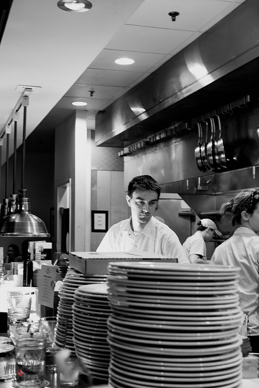 Chef Petres at Pastaria