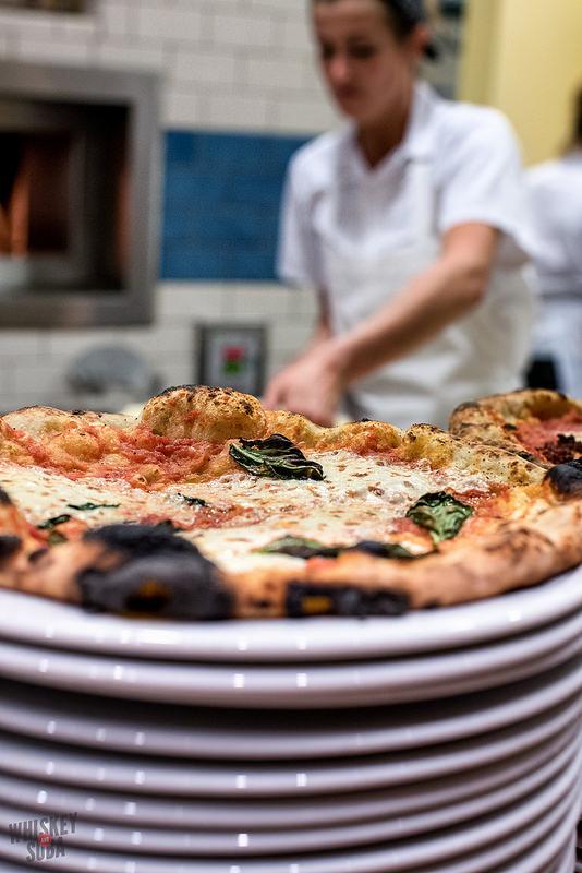 Margherita Pizza at Pastaria