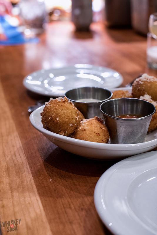 risotto balls at Pastaria