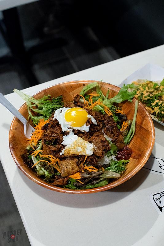 Salad Bowl at Seoul Taco
