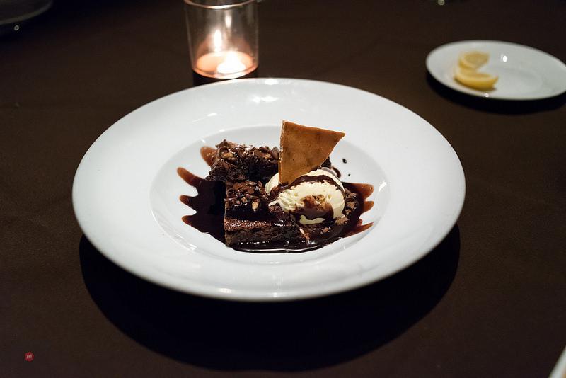 Brownie at Sidney Street Cafe
