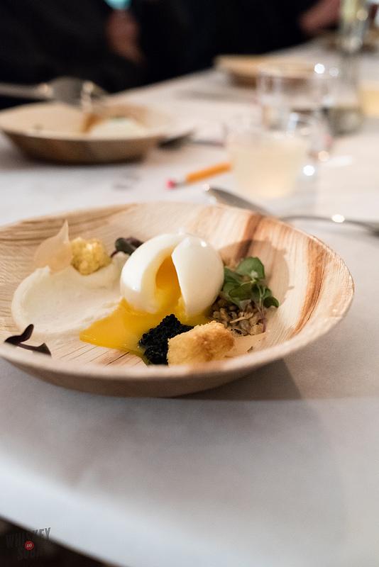 Cracked Egg at Nini Nguyen's St. Louis Dinner