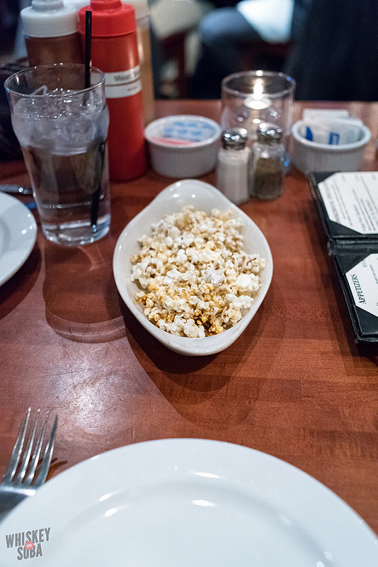 Popcorn at The Shaved Duck