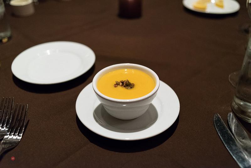 Squash Soup at Sidney Street Cafe
