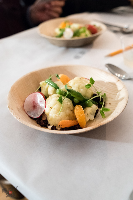 Veggie Salad at Nini Nguyen's St. Louis Dinner