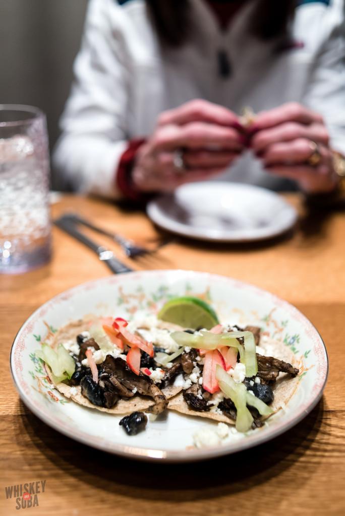 Mushroom Tacos at Publico