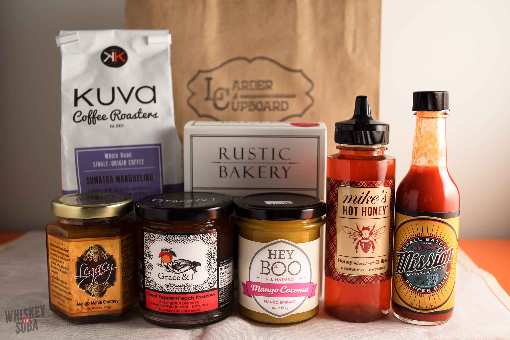 Products at Larder and Cupboard