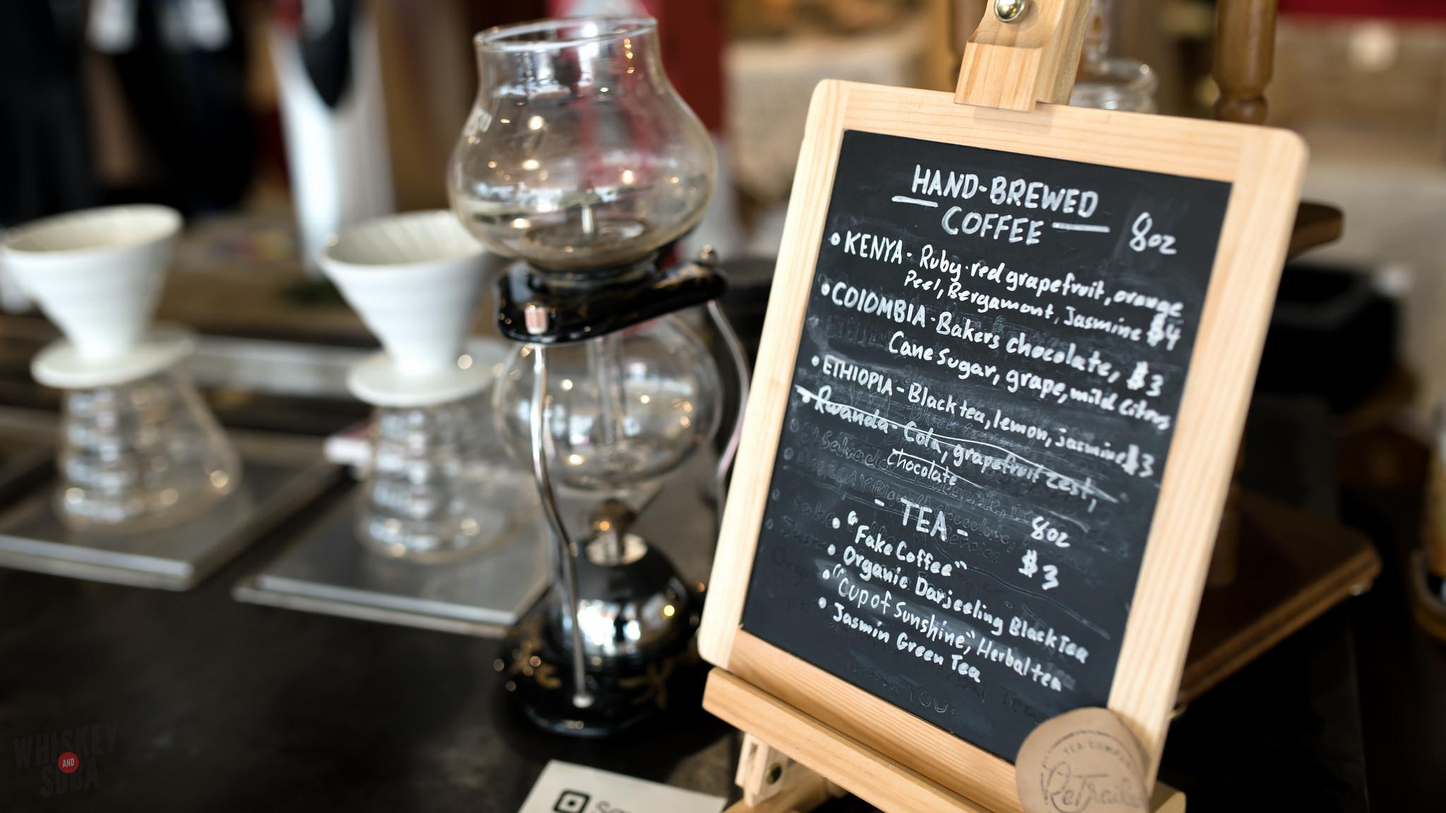 Wayfarer Coffee Menu at Create Space