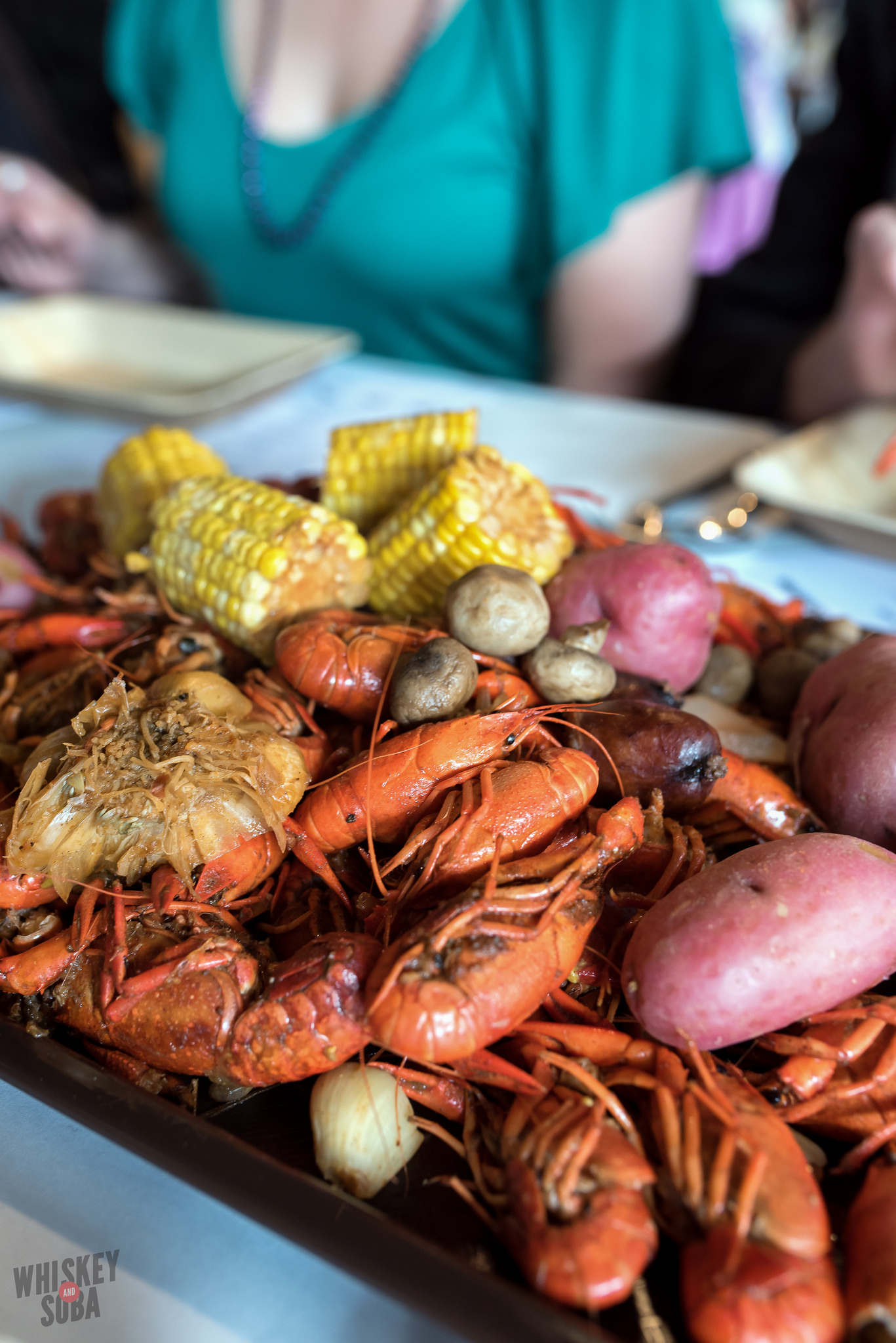 Feast at the Dinner Lab Crawfish Boil