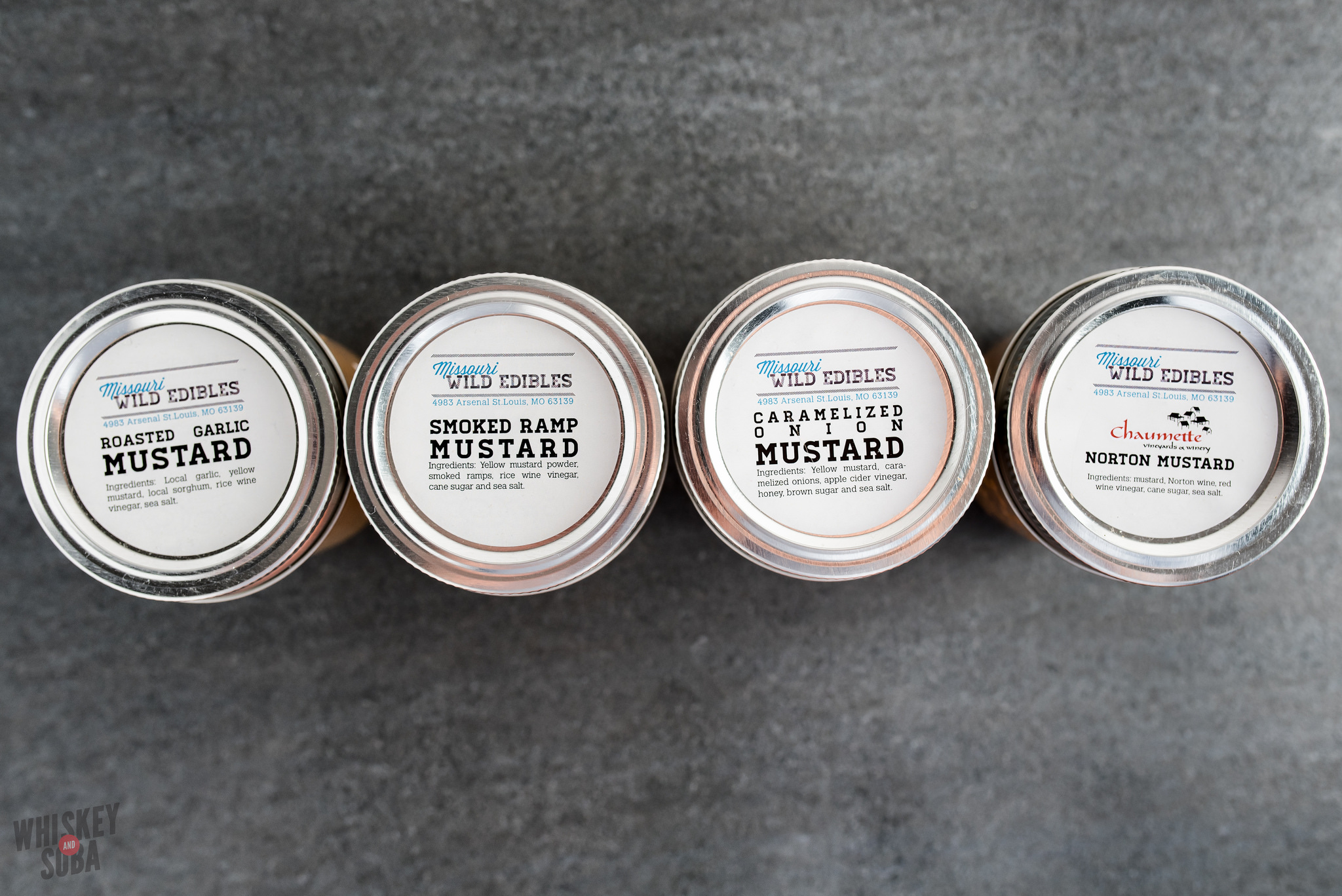 Mustards at Larder and Cupboard