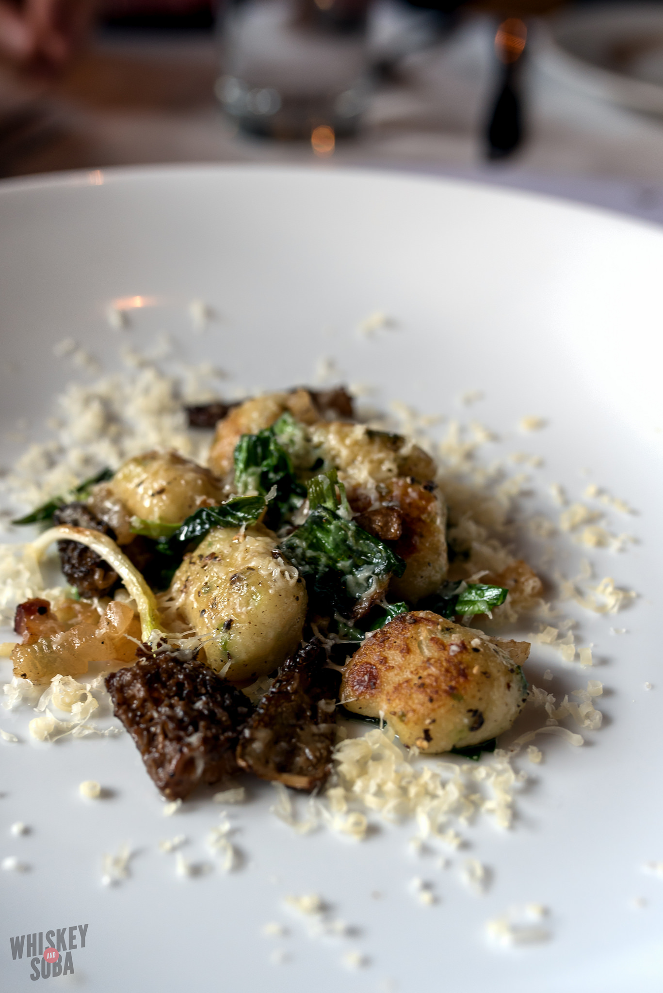 Morel Gnocchi at Five Bistro